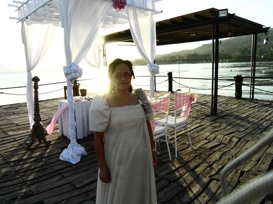 Club Balai Isabel: My wife who officiated the wedding ceremony