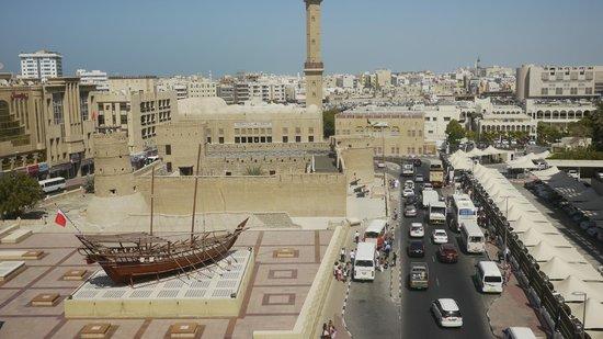 Arabian Courtyard Hotel & Spa: La vista al Museo