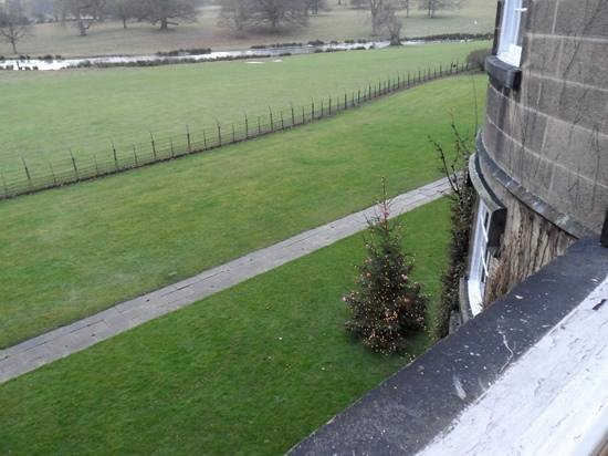 Swinton Park Country Club and Spa: view from the ripon room