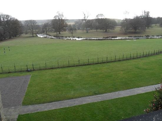 Swinton Park: the view was worth every penny