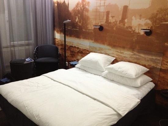 Hotel C Stockholm:                   standard rom i 5 etg.
