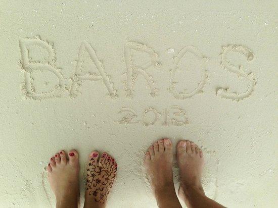 Baros Maldives: soft sand