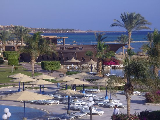Harmony Makadi Bay Hotel & Resort : view from our room