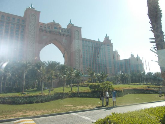 Atlantis, The Palm: The Atlantis, Outside View