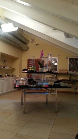Best Western Crystal Palace Hotel: la sala della colazione