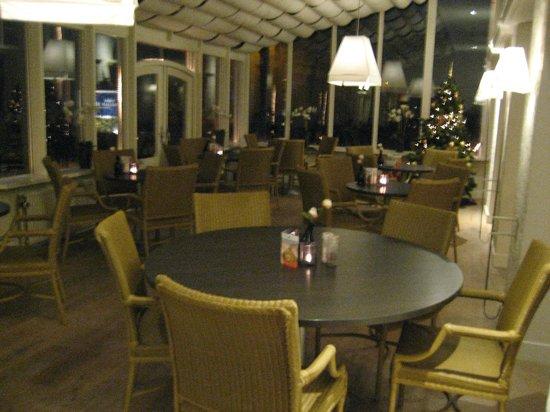 Fletcher Hotel-Restaurant De Mallejan: De serre,en ontbijtzaal