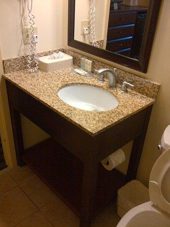Quality Inn Flamingo: Bathroom sink