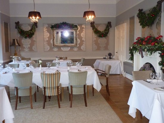 Washingborough Hall Country House Hotel : newly refurbished dining room