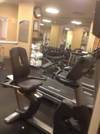 Wyndham Vacation Resorts At National Harbor: the gym was opened 24 hrs