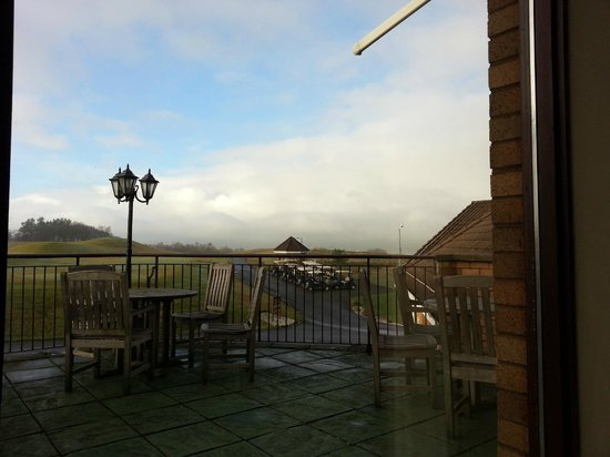 The Westerwood Hotel & Golf Resort - A QHotel: View from the restaurant