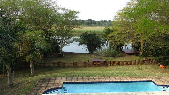 Eden River Lodge: River views