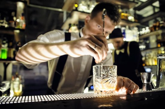 Bar Ktery Neexistuje: One of our bartenders