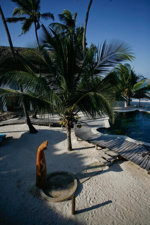 Waterlovers Beach Resort: The lovely pool area.
