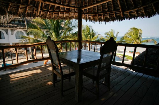 Waterlovers Beach Resort: One of the many spots where you can have your dinner.