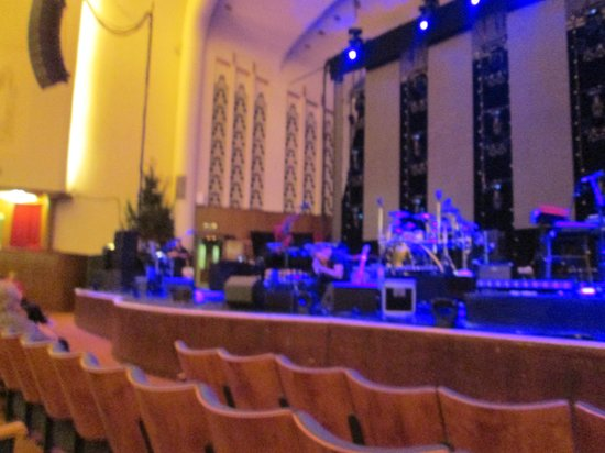 Royal Liverpool Philharmonic: The stage from where we were seated
