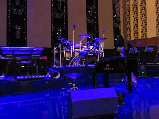 Royal Liverpool Philharmonic: The set up of the show