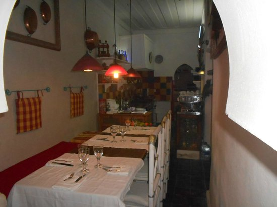 O'Bleu Mogador : la table d'hôte en cuisine