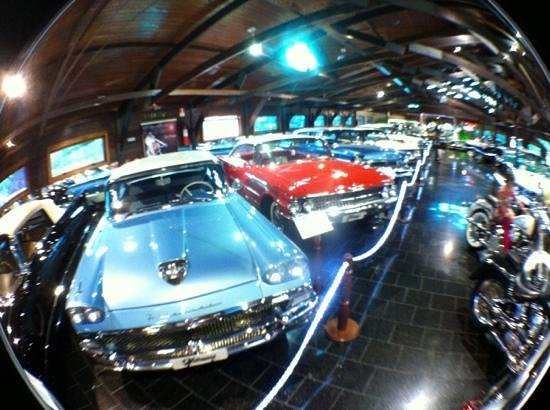 Museu do Automovel - Hollywood Dream Cars: geral do museu