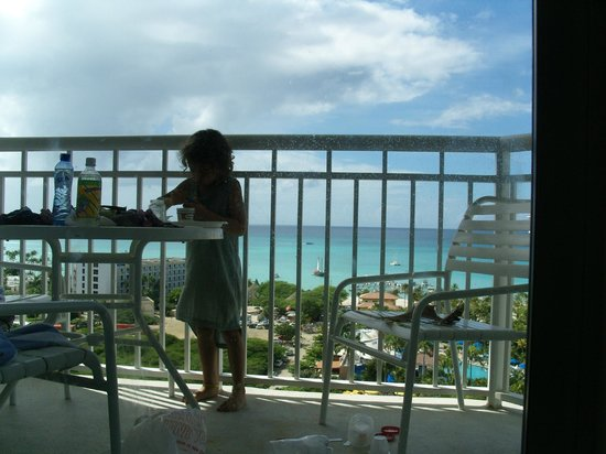 Marriott's Aruba Surf Club: balkon