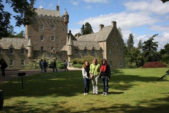 Atholdene House: Cawdor Castle on a sunny day.