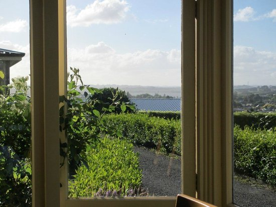 Manor Views: View from the conservatory