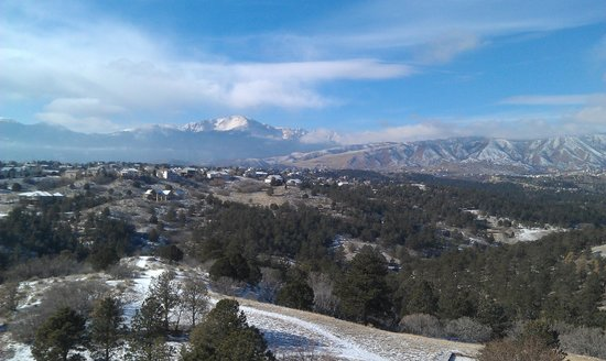 Colorado Springs Marriott: View from patio