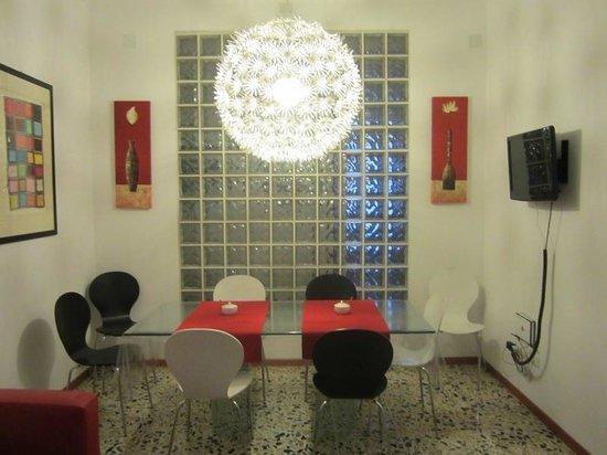 B&B Il Pittoresco: Salon/comedor