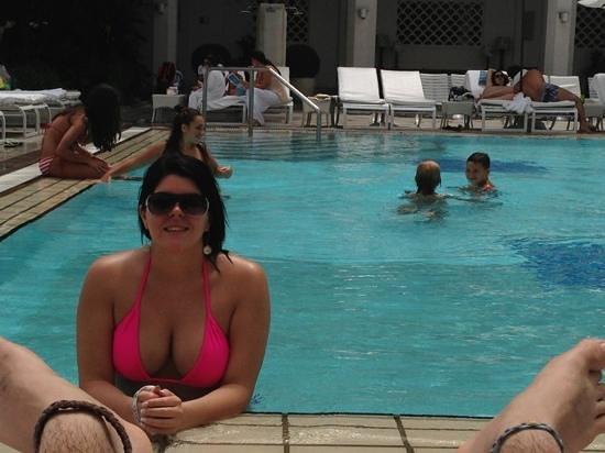 Belmond Copacabana Palace: at the pool
