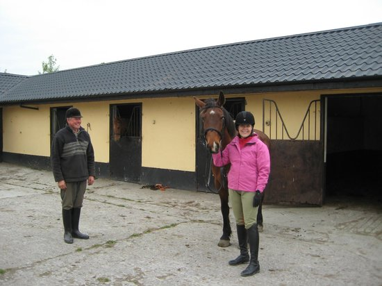 Cahergal Farmhouse: With Michael & Rocky Before Riding