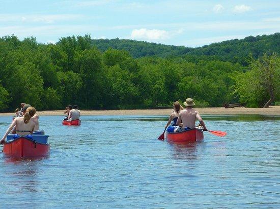 Wisconsin Canoe Company: Paddling the river