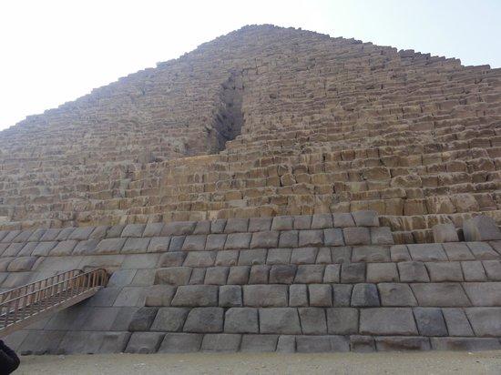 Mikerinos Pyramid: Entrata piramide Micerino.