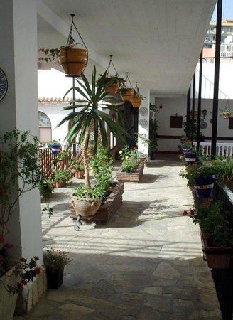 Las Rampas: Hotel interior