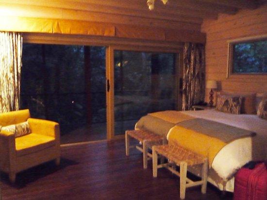 La Cantera Jungle Lodge: Habitación y terraza