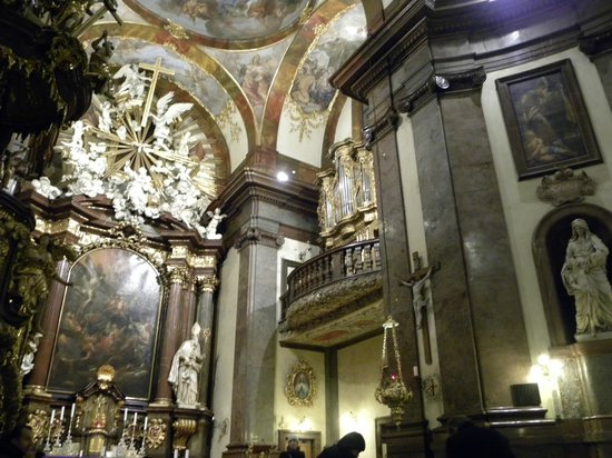 St. Francis of Assisi Church: Baroque decor and the ornate organ