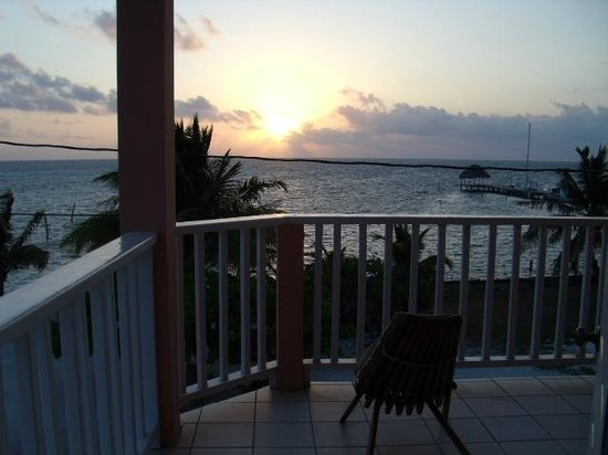 Caye Caulker Condos: Balcony - second floor