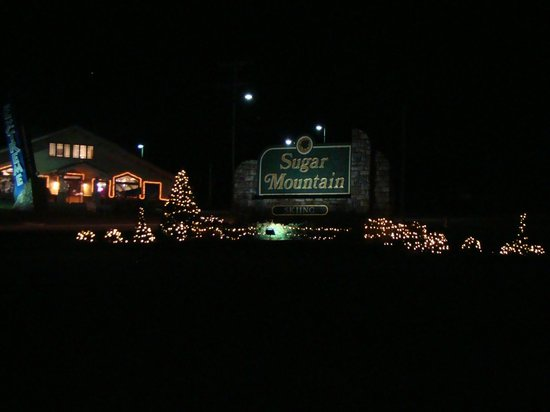 Sugar Mountain Resort: Entrance