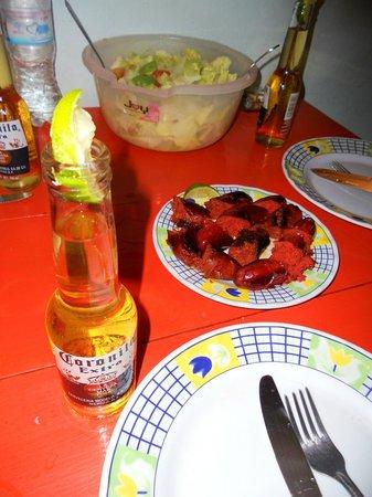 Hotel Maria del Pilar: cena pronta