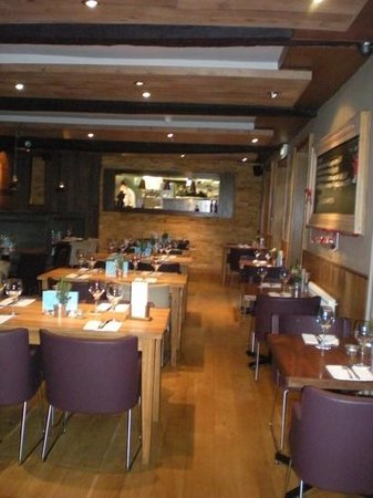 The Blue Boar Hotel: restaurant