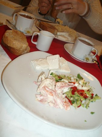 Raymond Hotel: Our farewell breakfast!
