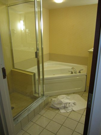 Holiday Inn Express Buffalo Airport: Jacuzzi in king suite