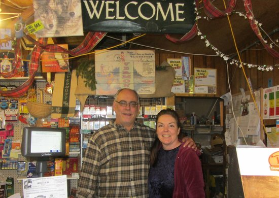 Route 4 Country Store: owners Tony & Margie