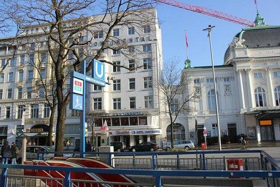 Novum Hotel Continental Hamburg Hauptbahnhof : The Hotel