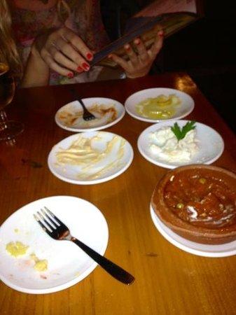 Mas Que Tapas: empty plates = full stomach