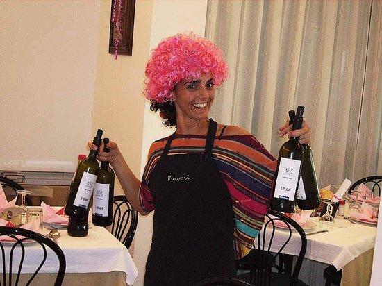 Hotel Miami Spiaggia: In vino veritas!!!!