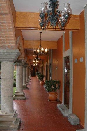 Mision Tlaxcala: pasillo