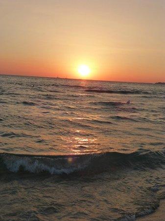La Stanza Preziosa B&B: Sonnenuntergang Gallipoli