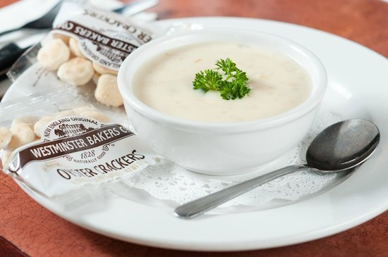 Dockside Restaurant: Boston Clam Chowder