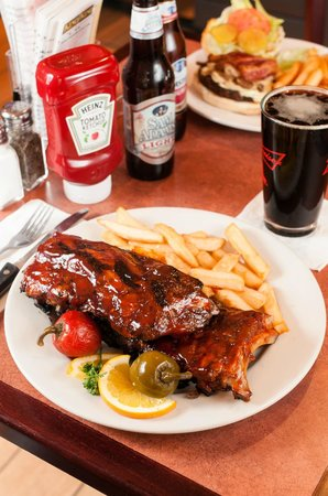 Dockside Restaurant: Full Rack of Baby Back Ribs