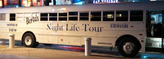 Berto's Night Life Tour