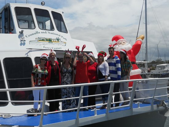 Cronulla & National Park Ferry Cruises: Merry Christmas everyone!